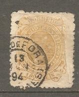 BRESIL Yv N°  75 (o)  1000r  Jaune Croix    Cote  4,5 Euro  BE 2 Scans - Oblitérés
