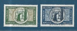 Colonie Timbres  Du Tunisie  De 1948  N°326/27 Neufs * - Ungebraucht