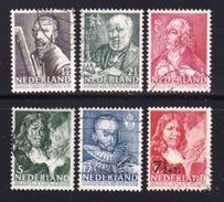 Ned 1940 Zomerzegels Serie Used 351-356 #205 - Period 1891-1948 (Wilhelmina)