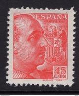 España 1939. General Franco. Sanchez Toda. Ed 871. MNH. **. - 1931-50 Ungebraucht