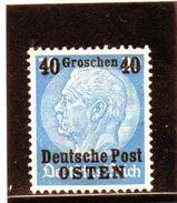 1939 Polonia - Deutsche Post - Osten (nuovo Senza Gomma) - 1939-44: World War Two