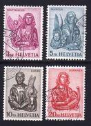 SWITZERLAND 1961 Used Stamp(s) Definitives 738-741 #3736 - Switzerland