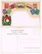 Carte Philatélique D.R.G.M CRETE N°61 - 1900 - Stamps (pictures)