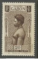 GABON 1932 YT TAXE 25 (o) - NEUF SANS TRACE DE CHARNIERE - SANS GOMME - Gabon (1886-1936)