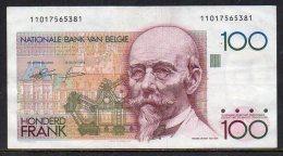 530-Belgique Billet De 100 Francs 1978-1994 - 110 - [ 2] 1831-... : Belgian Kingdom