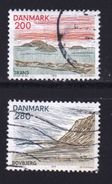 DENMARK, 1979, Used Stamp(s), Tourism North Jutland,  MI 690-693, #10147, 2 Values Only - Denmark