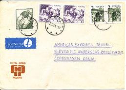 Poland Cover Sent To Denmark Garwolin 22-10-1981 - 1944-.... Republic