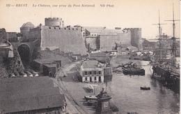 Francia--Brest--Le Chateau, Vue Prise Du Pont National - Castillos