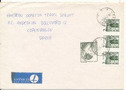 Poland Cover Sent To Denmark Krakow 6-2-1981 - 1944-.... Republic