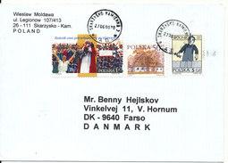 Poland Nice Cover Sent To Denmark 27-6-2000 - 1944-.... Republic
