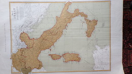 RARE CARTE MAP OF ITALY-ITALIE-SUISSE-SWITZERLAND-BY T. ETTING-1860-LONDON NEWS-CORSE-SARDAIGNE-SICILE-ROME-MILAN-NAPLES - Geographical Maps