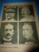 1917 J'AI VU:Dannemarie;QUE J'AI DONC FAIM (Carnet De Route De L'instituteur All.Hermann Gerken);Zouaves-Langemarck;etc - French