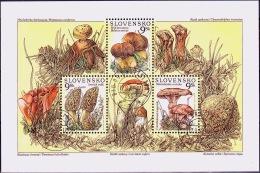 Mi.Nr.289-291 (Block9) SLOWAKEI Pilze USED/O/GESTEMPELT - Used Stamps