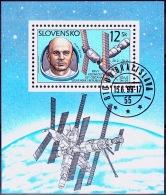 Mi.Nr.343 (Block12) SLOWAKEI Erster Slowake Im WeltraumUSED/O/GESTEMPELT - Used Stamps