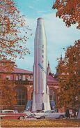 CPM 9X14 . U.S.A . ESPACE . La Fusée ATLAS  : U.S.A.F.(+ Autos Américaines Années 60 ) - Espace