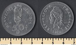 New Hebrides 50 Francs 1972 - Monete