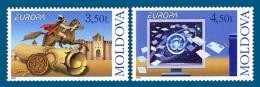 Moldova 2008 Mih. 611/12 Europa-Cept. The Letter MNH ** - Moldova