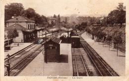 TASSIN La Gare 1922 - France