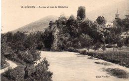 HECHES  Rocher Et Tour De Hechettes - France