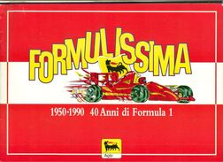 AòLBUM FIGURINE -40 ANNI FORMULA 1-AGIP- PILOTI AUTOMOBILISMO - PRATICAMENTE COMPLETO (MANCA UNA FIGURINA -FERRARI- - Automobilismo - F1