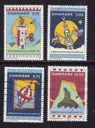 DENMARK, 1996, Used Stamp(s), Kopenhagen Culture City, MI 1116=1119, #10221, Complete - Denmark