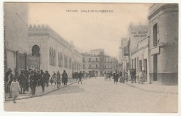 Tetuan * Calle De Alfonso XIII - Tanger
