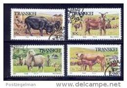 TRANSKEI 1987 CTO Stamp(s) Domestic Animals 210-213 #3425 - Farm