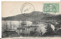 Martinique - St-PIERRE Avant La Catastrophe De Mai 1902 - Antilles