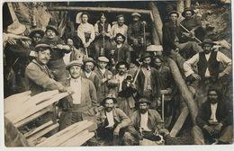 C. Photo Mineurs Près De Chalencon Dont Mineur Noir , Puits De Mine .Ecrite Tiranges. 2 H à Pied De St Bonnet St Maurice - France