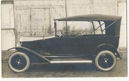 Carte Photo Publicité Fabrique De Voitures Automobiles J. Verneuil 1924 11 Rue Lemaitre Puteaux - Puteaux