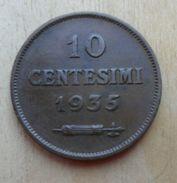 10 CENTESIMI DI SAN MARINO 1935 ROMA - - San Marino