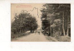 ALBOUSSIERE Bois De Pins Sur A Route De Valence (carte Animée) - Ohne Zuordnung