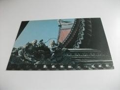 SHANGHAI JABE BUDDHA TEMPLE SCULPTURE OF HANSHAN, SHI DE ON THE RIDGE OF THE HOUSE CINA CHINA - Chine