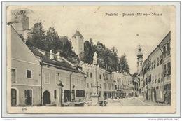 PUSTERTAL BRUNECK STRASSE  VIAGGIATA 1915 FP - Bolzano