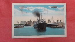 - Florida > Miami B Ocean Steamship  & Zeppelin   Ref 2636 - Miami
