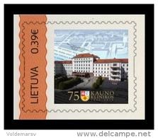 Lithuania 2015 Personal Stamp. Medicine. Kaunas Clinics MNH ** - Lituania