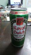 Neterlands- Beer Royal Dutch Post Horn Lager Beer Cans - Cannettes