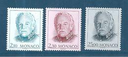 Monaco Timbres De 1990  Neufs** N°1705 A 1707 Vendu Prix De La Poste - Monaco