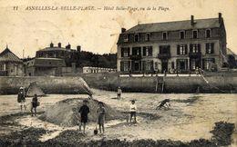 14 ASNELLES - La Belle Plage - Animée - état Moyen - France