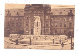 5000 KÖLN, Appelhofplatz, Römerbrunnen, 1916 - Koeln