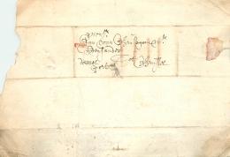 """LàC   Gent   28/3/1683  >  Bruxelles  """" Dobbel Port """"    4 Traits De Craie - 1621-1713 (Spaanse Nederlanden)"""