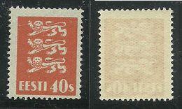 ESTLAND Estonia 1929 Michel 84 MNH - Estland