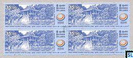 Sri Lanka Stamps 2017, UN Vesak Day, One Pillar Pagoda, Vietnam, Buddha, Buddism, MNH - Sri Lanka (Ceylon) (1948-...)