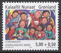Greenland 2004 Mi# 421** SOCIETY OF GREENLANDIC CHILDREN - Nuovi