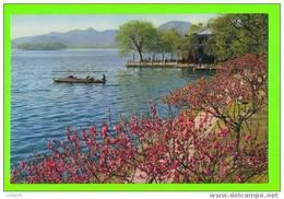 WEST LAKE OF HANGZHOU,CHINA - PAI CAUSEWAY - ANIMATED - - Chine