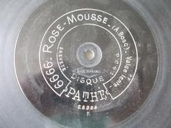 78T - La Jolie Patineuse Et Rose Mousse Par Bagarre Et Bosc - 78 Rpm - Schellackplatten