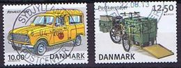 Denmark 2002 & 2013; 2 Stamps With Postal Vehicles - Used - Danemark