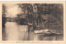 -----  77  -----  COMBS LA VILLE  Bords De L'Yerres Pris Du Pont De Vaux - TTBE  écrite - Francia