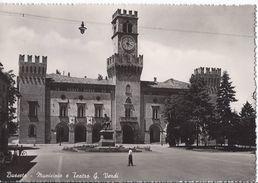 Busseto - Municipio E Teatro G. Verdi - Parma - H3578 - Parma