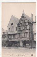 Cp , 51 , REIMS , Maisons De La Place Des Marchés - Reims